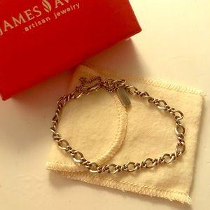 JA Medium Twist Charm Bracelet
